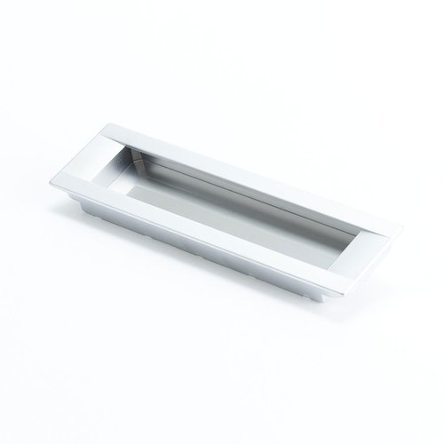 Seize 6-5/16 Inch Center to Center Dull Chrome Cabinet Pull <small>(#9283-10DC-C)</small>