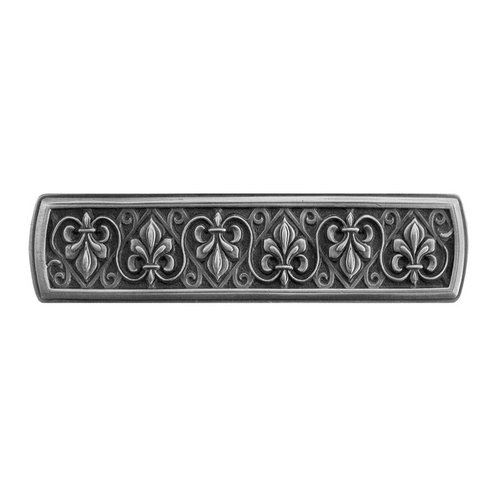 Notting Hill Olde World 3 Inch Center to Center Antique Pewter Cabinet Pull NHP-660-AP