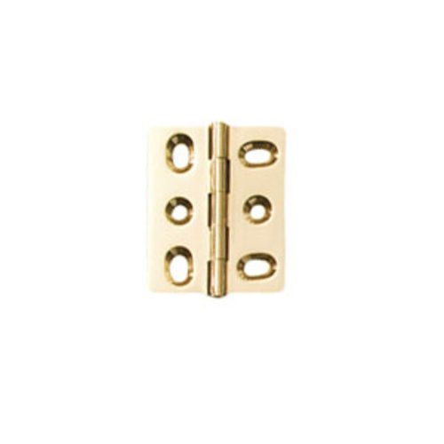 Hafele Elite Mortised Butt Hinge 50X40mm - Polished Brass 354.17.820