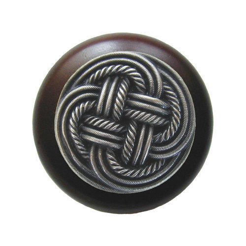 Notting Hill Classic 1-1/2 Inch Diameter Antique Pewter Cabinet Knob NHW-739W-AP
