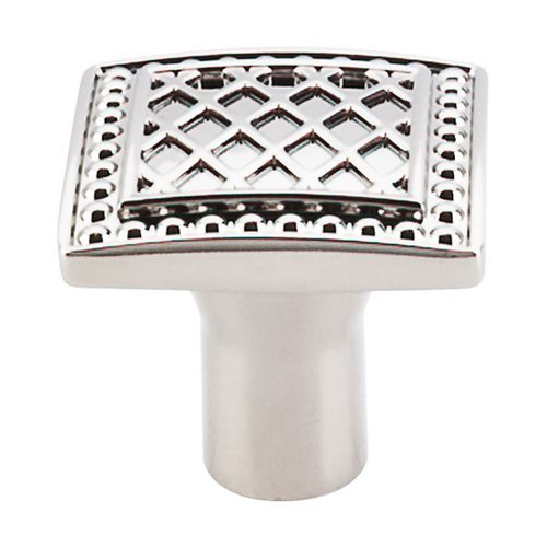 Top Knobs Trevi Fountain 1-1/4 Inch Diameter Polished Nickel Cabinet Knob TK174PN