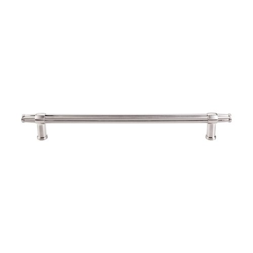 Top Knobs Luxor 12 Inch Center to Center Brushed Satin Nickel Appliance Pull TK199BSN