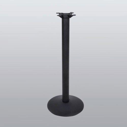 "Peter Meier Table Base 30"" Round x 40-1/2"" High-Black Matte Finish 3030-41-MT"