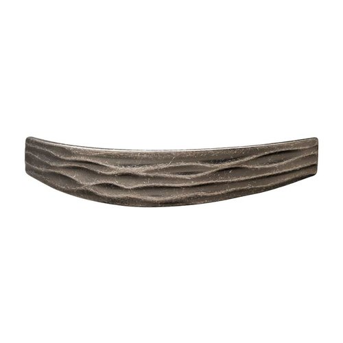Hafele Strata 3-3/4 Inch Center to Center Antique Pewter Cabinet Pull 104.96.951