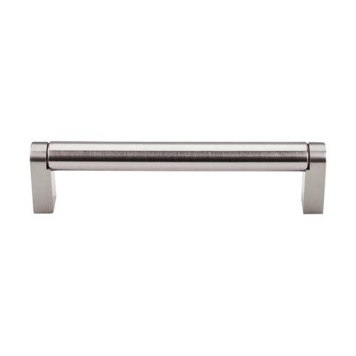 Top Knobs Bar Pull 5-1/16 Inch Center to Center Brushed Satin Nickel Cabinet Pull M1003