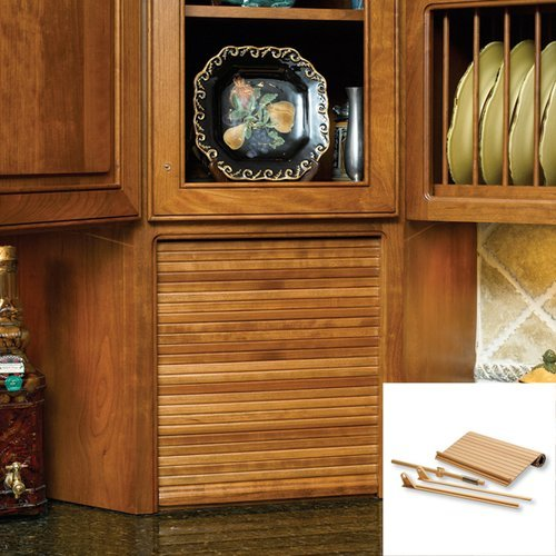 """Omega National Products 15"""" Wide Tambour Door Kit - Red Oak C02-SRO-1"""