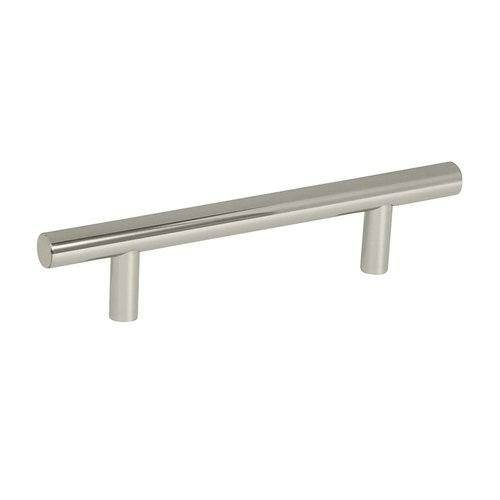 Amerock Bar Pulls 3-3/4 Inch Center to Center Polished Nickel Cabinet Pull BP40516PN