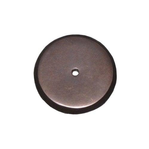 Top Knobs Aspen 1-1/4 Inch Diameter Medium Bronze Back-plate M1462