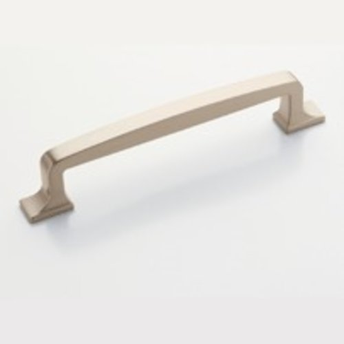 Westerly 5-1/16 Inch Center to Center Satin Nickel Cabinet Pull <small>(#BP53721G10)</small>