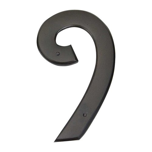 Atlas Homewares Mission House Number Nine Aged Bronze RCN9-O