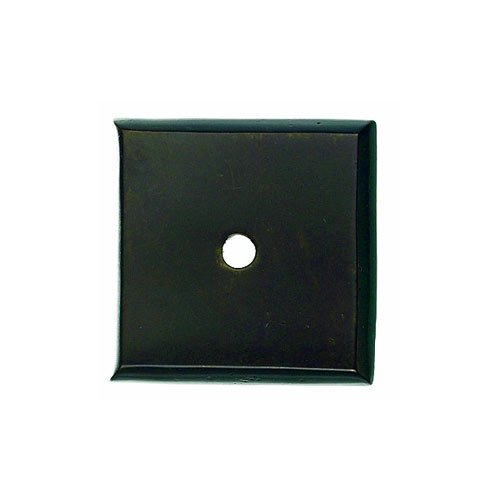 Aspen 1-1/4 Inch Diameter Medium Bronze Back-plate <small>(#M1452)</small>