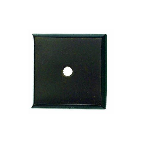 Top Knobs Aspen 1-1/4 Inch Diameter Medium Bronze Back-plate M1452