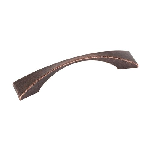 Elements by Hardware Resources Glendale 3-3/4 Inch Center to Center Dark Machined Antique Copper Cabinet Pull 525-96DMAC