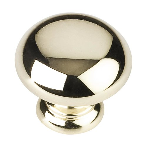 Elements by Hardware Resources Palisade 1-1/4 Inch Diameter Polished Brass Cabinet Knob Z6001PB