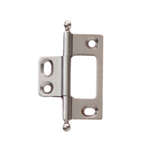 Hafele Elite Non-Mortised Butt Hinge 50X37mm - Satin Chrome 351.95.482
