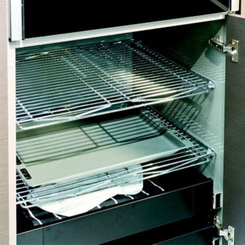 Kessebohmer Metal Storage Rack For Cabinets Chrome 545.71.202