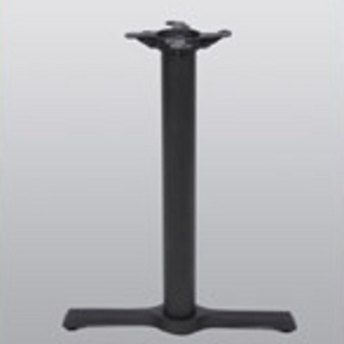 "Peter Meier Table Base 5"" x 22"" End Style X 40"" High-Black Matte Finish 2001-40-MT"