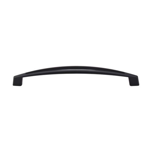 Top Knobs Appliance Pull 12 Inch Center to Center Flat Black Appliance Pull TK147BLK