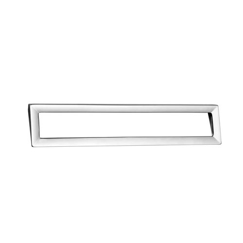 Zen Dharma 7-1/2 Inch Center to Center Polished Chrome Cabinet Pull ZP0047.1
