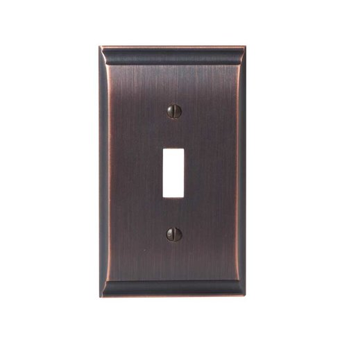 Amerock Candler One Toggle Wall Plate Oil Rubbed Bronze BP36500ORB