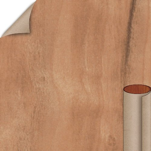 Nevamar Caluna Cherry Textured Finish 4 ft. x 8 ft. Vertical Grade Laminate Sheet WC2001T-T-V3-48X096