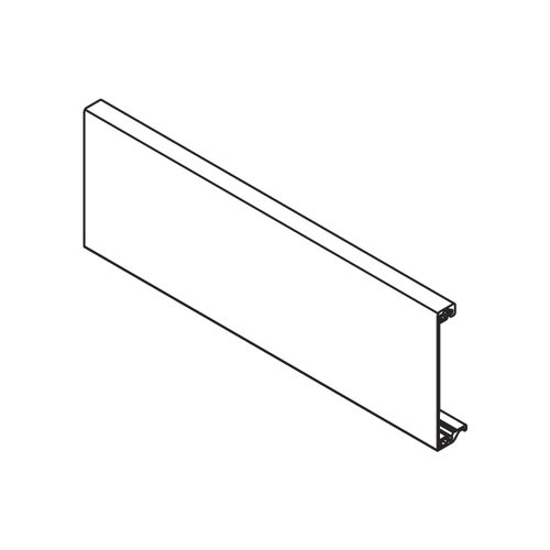 Blum Tandembox Front Piece 40-13/16 inch Brushed Nickel Z31L1036A-N