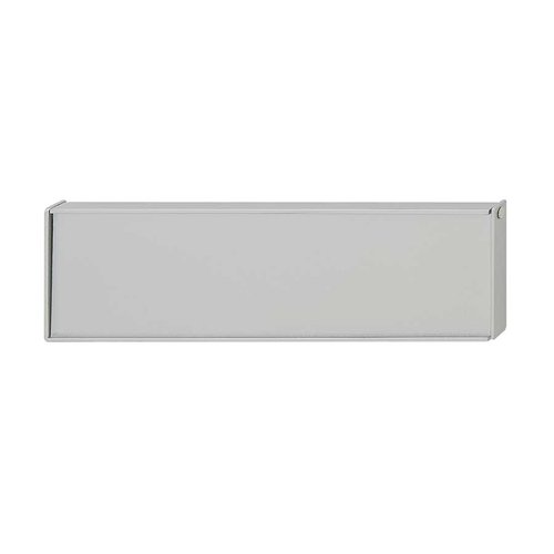 Bella Italiana 5-1/16 Inch Center to Center Silver Aluminum Cabinet Pull <small>(#106.13.931)</small>