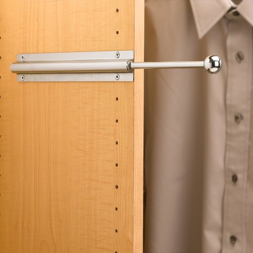 Rev-A-Shelf Standard Valet Rod - Chrome CVL-12-CR