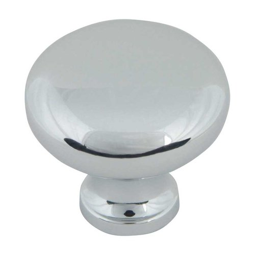 Atlas Homewares Successi 1-1/4 Inch Diameter Polished Chrome Cabinet Knob A819-CH