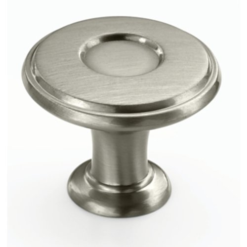 Amerock Porter 1-1/4 Inch Diameter Satin Nickel Cabinet Knob BP27026G10