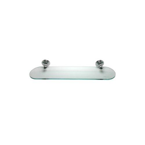 R. Christensen Oval Glass Shelf Kit Polished Chrome 2125US26