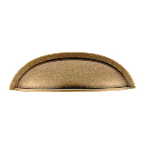 Hickory Hardware Williamsburg 3 Inch Center to Center Antique Rose Gold Cabinet Cup Pull P3077-ARG