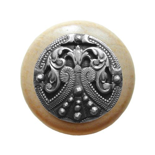 Notting Hill Olde Worlde 1-1/2 Inch Diameter Antique Pewter Cabinet Knob NHW-701N-AP