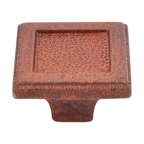 Top Knobs Britannia 2 Inch Diameter True Rust Cabinet Knob M1821
