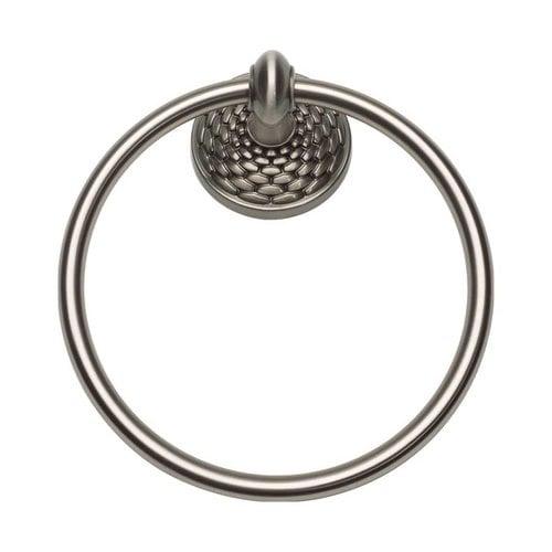 Atlas Homewares Mandalay Towel Ring Brushed Nickel MANTR-BRN