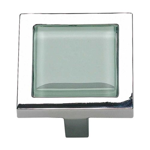 Atlas Homewares Spa 1-3/8 Inch Diameter Polished Chrome Cabinet Knob 230-GR-CH