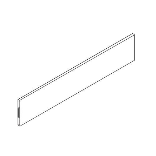 "Blum Tandembox Metal Design Element 22"" Gray Z37A517D"