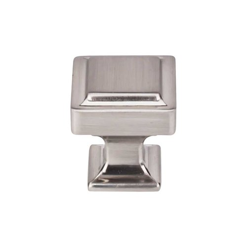 Top Knobs Transcend 1-1/8 Inch Diameter Brushed Satin Nickel Cabinet Knob TK701BSN