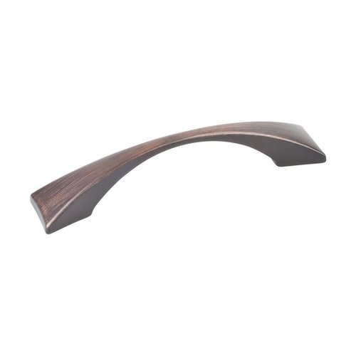 Elements by Hardware Resources Glendale 3-3/4 Inch Center to Center Dark Brushed Antique Copper Cabinet Pull 525-96DBAC