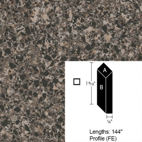 Wilsonart Bevel Edge - Blackstar Granite-12Ft CE-FE-144-4551-01
