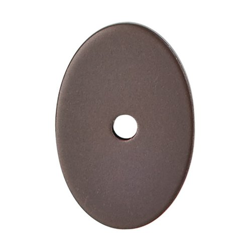 Top Knobs Sanctuary 1-1/2 Inch Length Oil Rubbed Bronze Back-plate TK60ORB