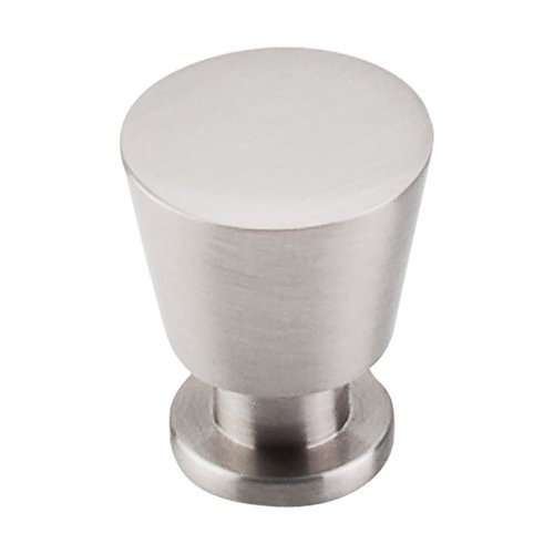 Top Knobs Nouveau II 7/8 Inch Diameter Brushed Satin Nickel Cabinet Knob M549