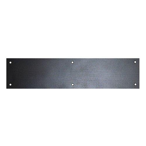 """Don-Jo 4"""" X 16"""" Door Push Plate Oil Rubbed Bronze 71-613"""