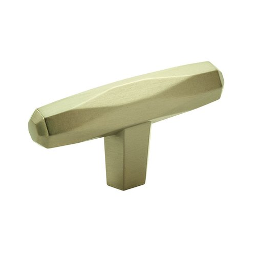 "Amerock St Vincent Knob 2-1/2"" Long Golden Champagne BP36642BBZ"