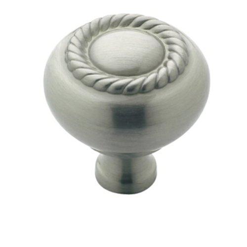 Amerock Allison Value Hardware 1-1/4 Inch Diameter Satin Nickel Cabinet Knob BP53471G10