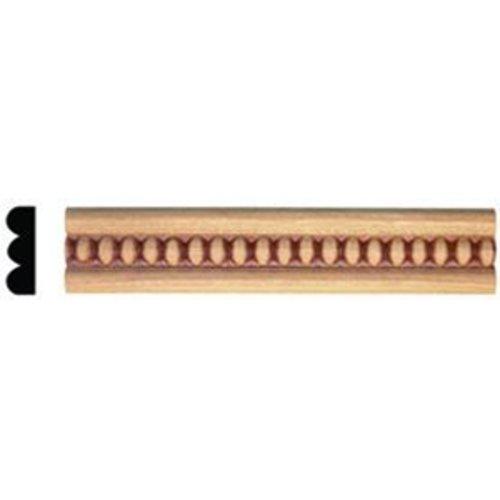 Omega National Products Style E359P2 Embossed Molding 8 feet Maple-4/Box E359P2960MUF8