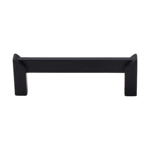 Top Knobs Sanctuary II 3-1/2 Inch Center to Center Flat Black Cabinet Pull TK235BLK