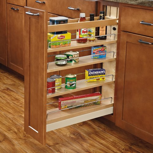 "Rev-A-Shelf 5"" Base Organizer W/ Soft-Close 448-BCBBSC-5C"
