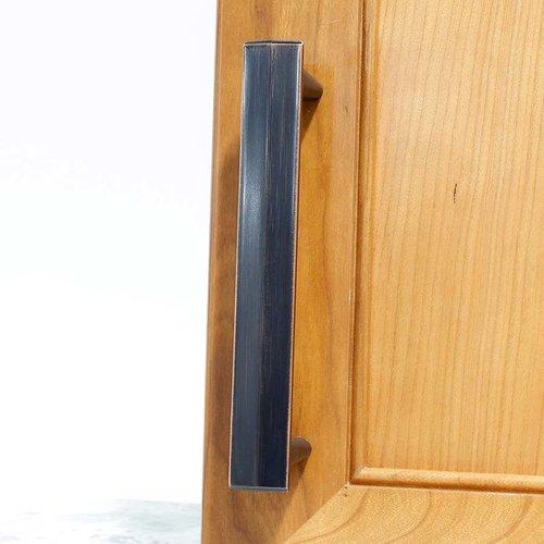 Century Hardware L'attitude 5-1/16 Inch Center to Center Regent Bronze Cabinet Pull 27538-RZC