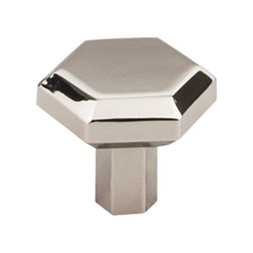 Top Knobs Serene 1-1/4 Inch Diameter Polished Nickel Cabinet Knob TK792PN